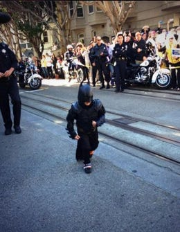 Update: Andrew Garfield Didn't Snub Batkid After All