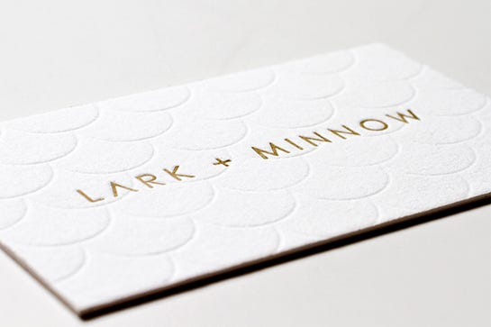 Cool Los Angeles Business Cards
