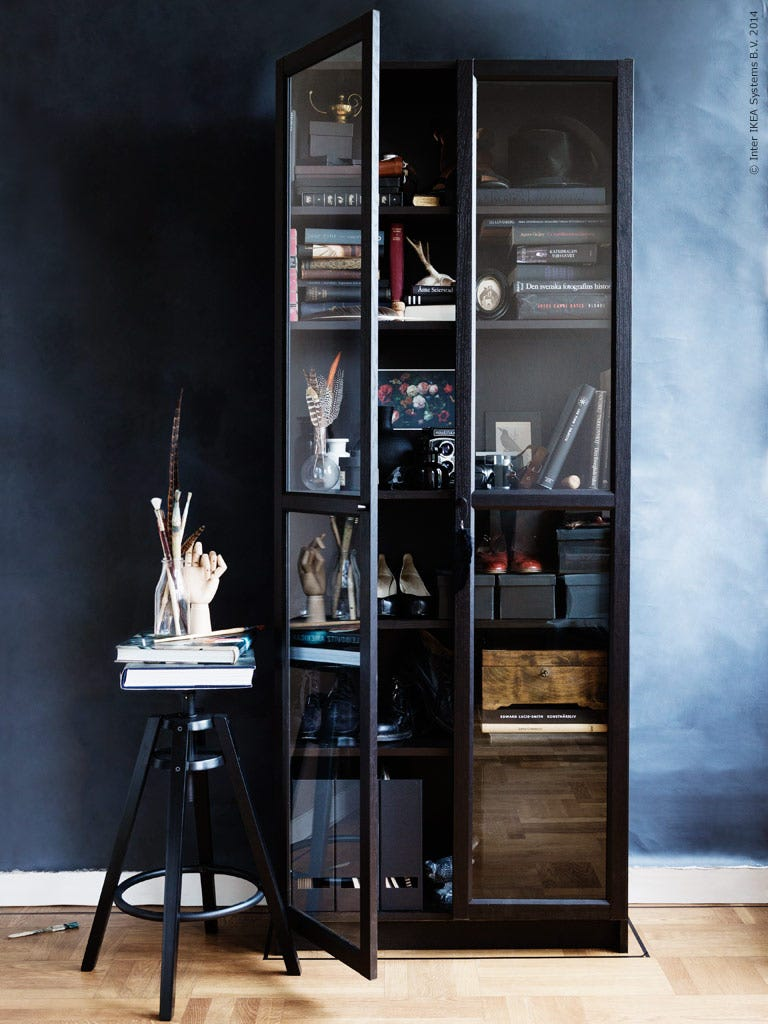 billy bookcase styling ideas ikea. Black Bedroom Furniture Sets. Home Design Ideas