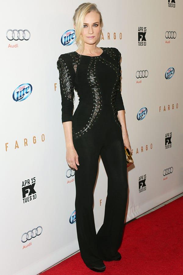 Diane Kruger Red Carpet Zuhair Murad Jumpsuit
