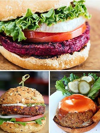 Veggie Burgers That Up The Between-The-Bun Standards