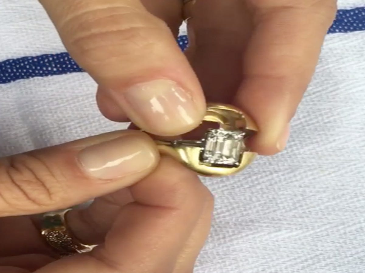 We Cant Stop Watching This Two In One Engagement Ring In Action