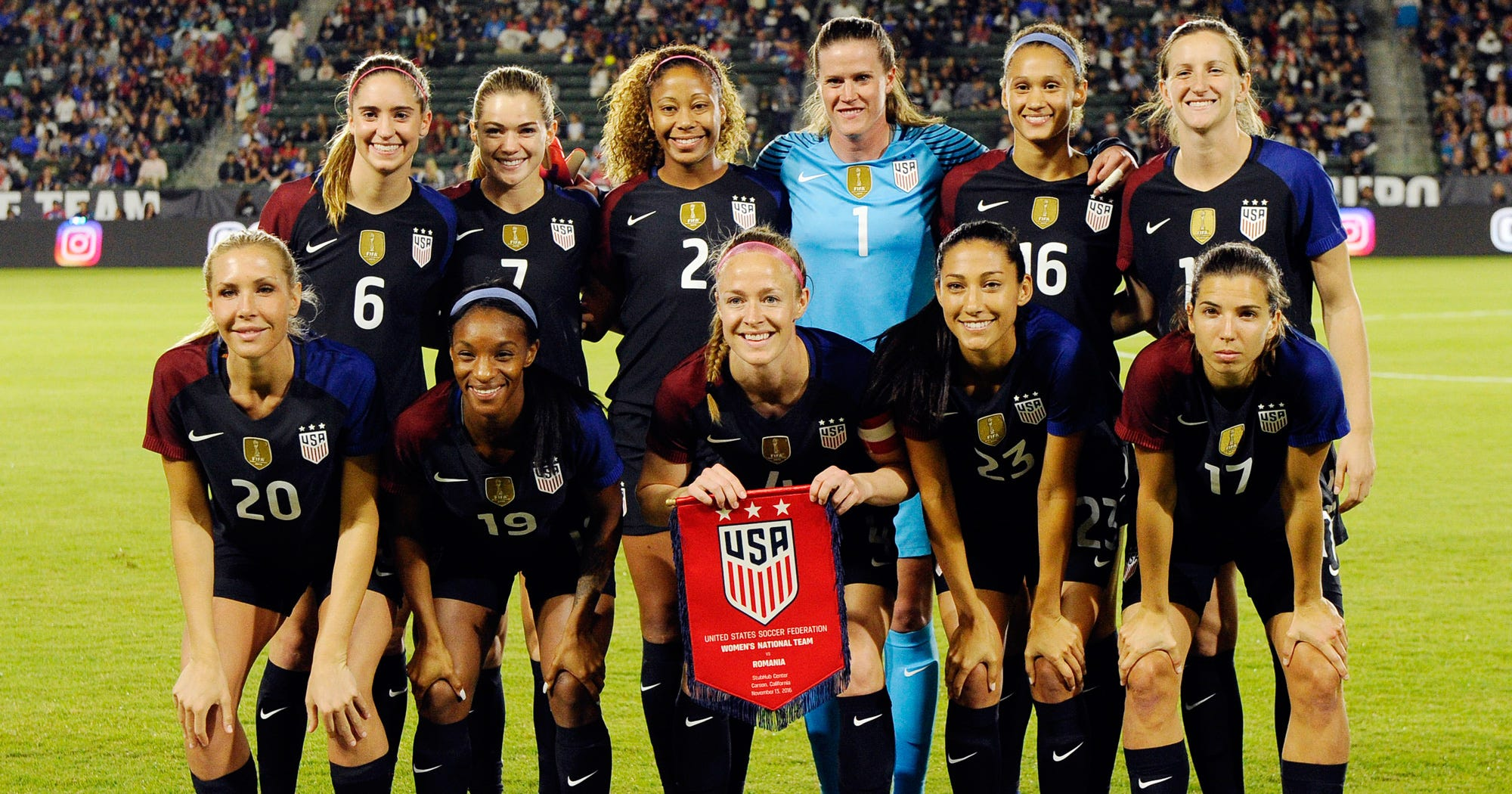 """Women's National Soccer Team Players Say They're Treated Like """"Second-Class Citizens"""""""
