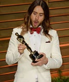 "Jared Leto Let Everyone Join In On An Oscar-Touching ""Orgy"""