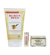One of the most inexpensive-yet-effective kits to keep your hands, body, and lips hydrated, this lotion really does keep our skin hydrated for 24 hours, and the hand cream isn't a greasy mess — a bonus for those who are typing away at a computer all day.   Burt's Bees Bee Keeper's Winter Care Kit, $14.99, available at Soap.com.