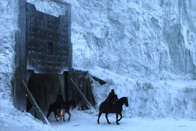 what would happen if the wall in game of thrones melted