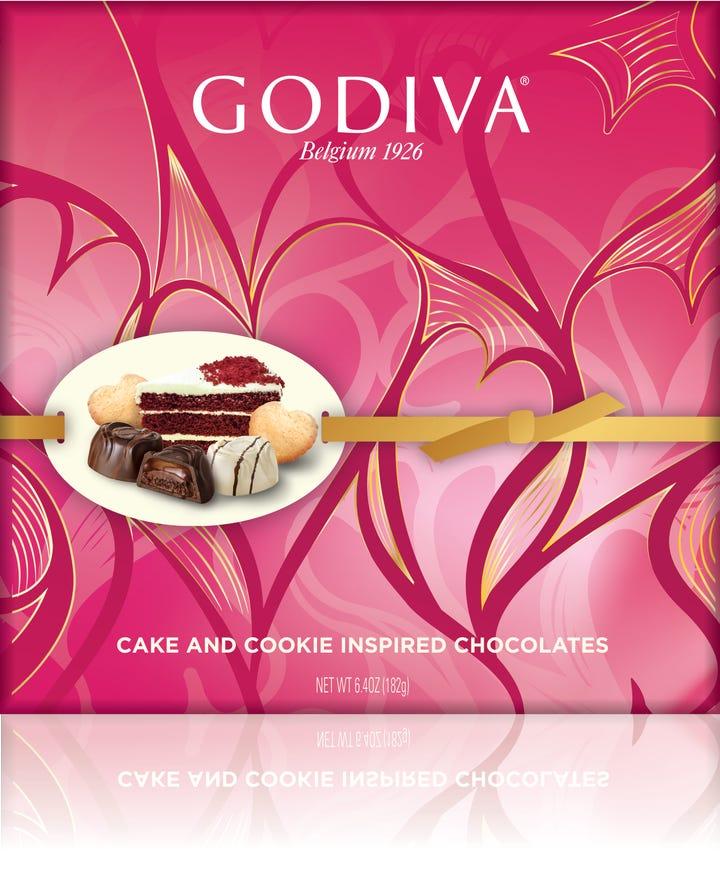 Godiva Cake Inspired Chocolates