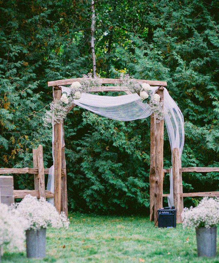 Backyard Wedding Ideas Decorations Cute Ambiance