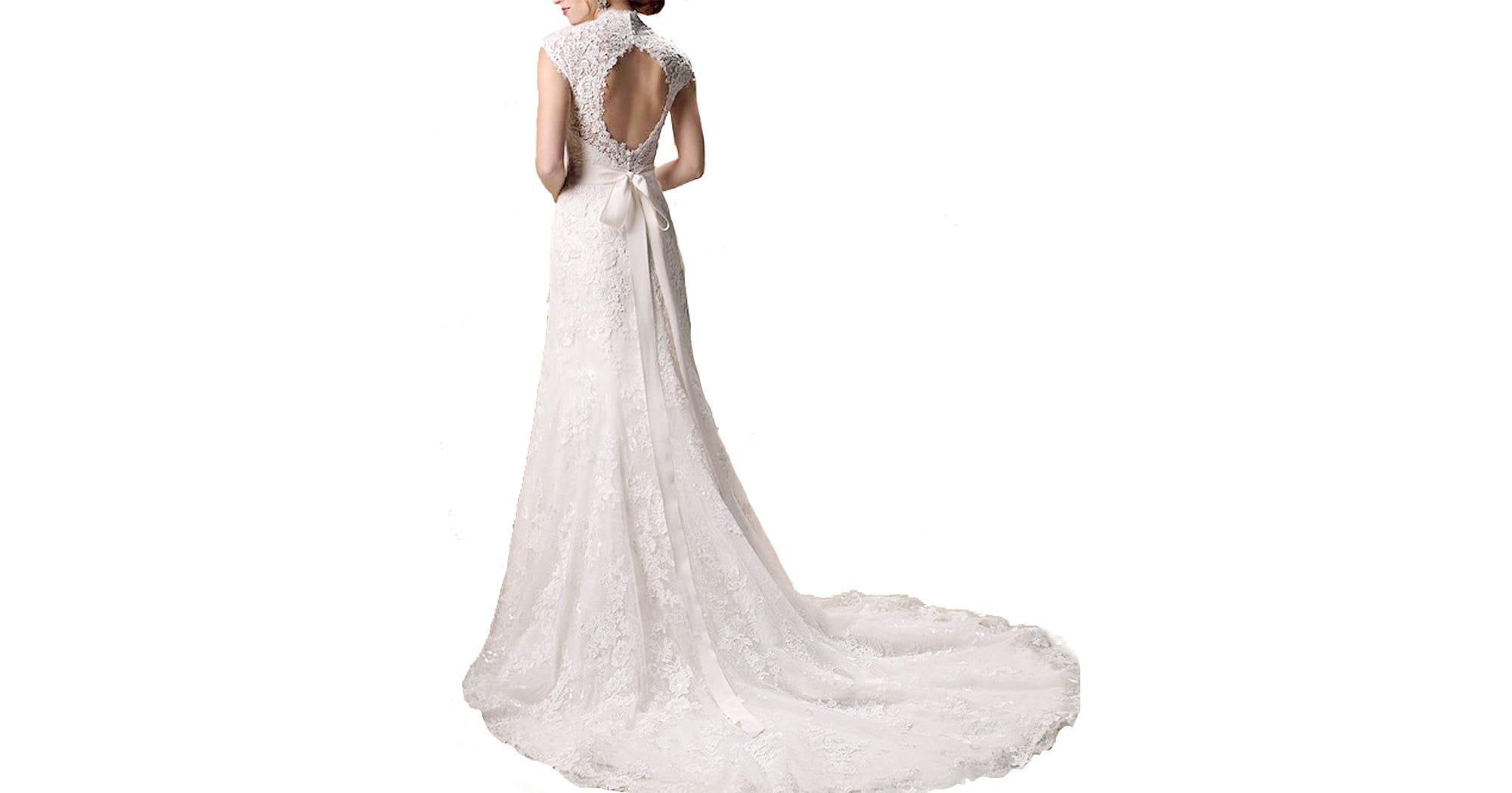 Amazon Best-Selling Wedding Dress