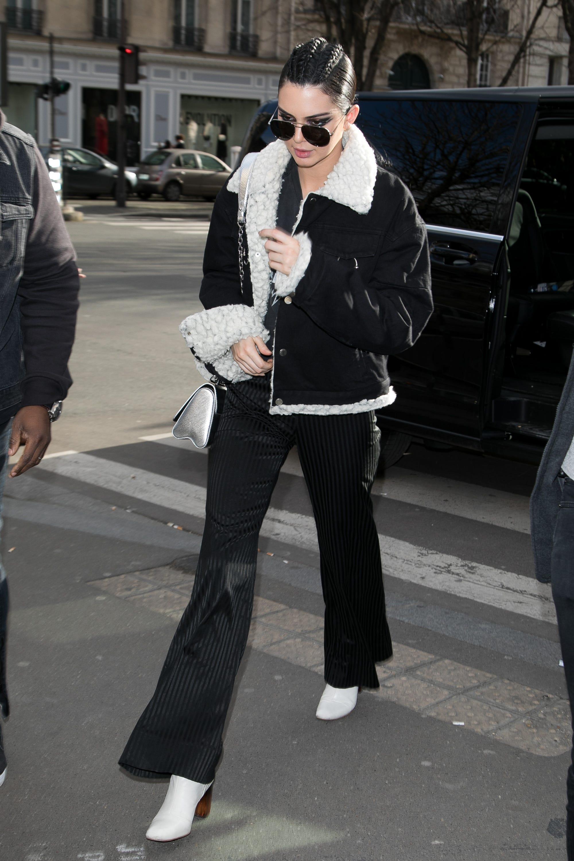 Kendall Jenner Street Style Paris Fashion Week 2017