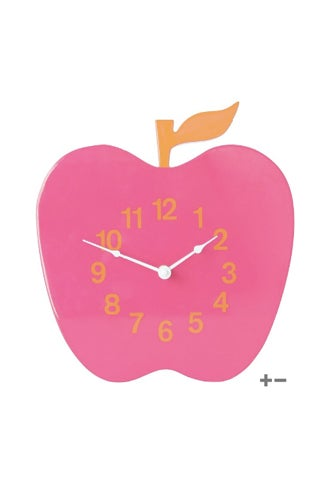 Apple-Lacquer-Clock