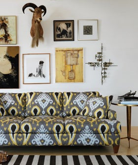 How To Mix Prints For Home Decorating