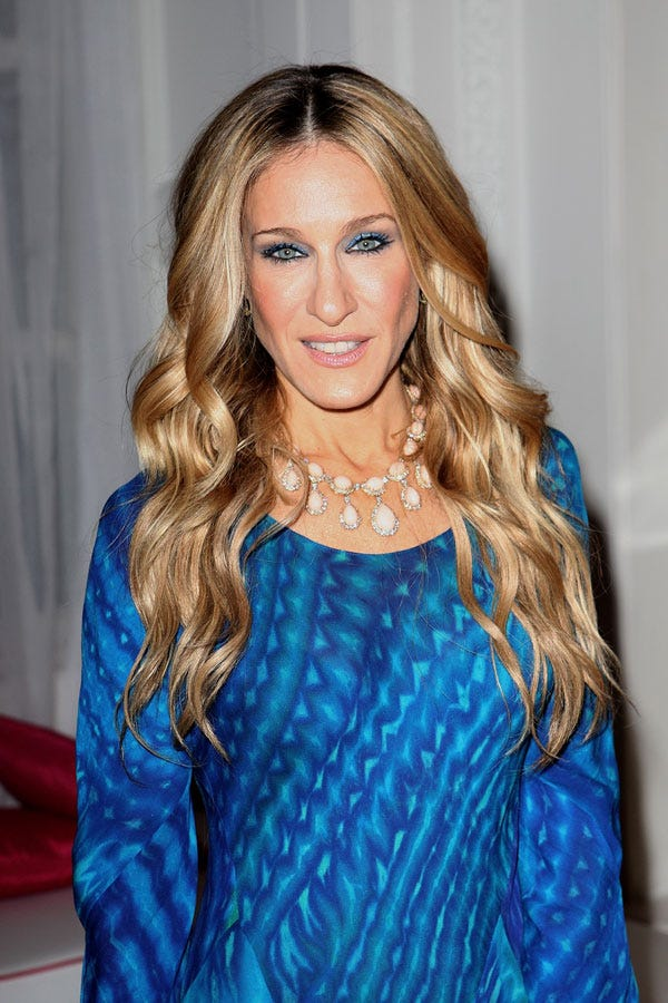 Sarah Jessica Parker Curly Hair Sex And The City Secret