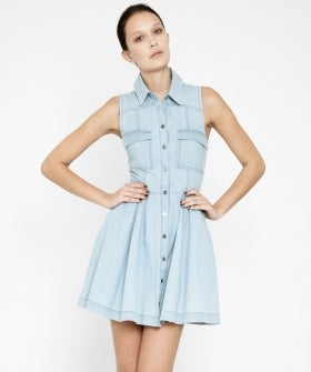 15 chambray and denim dresses for a san francisco summer for Cuisine you chambray