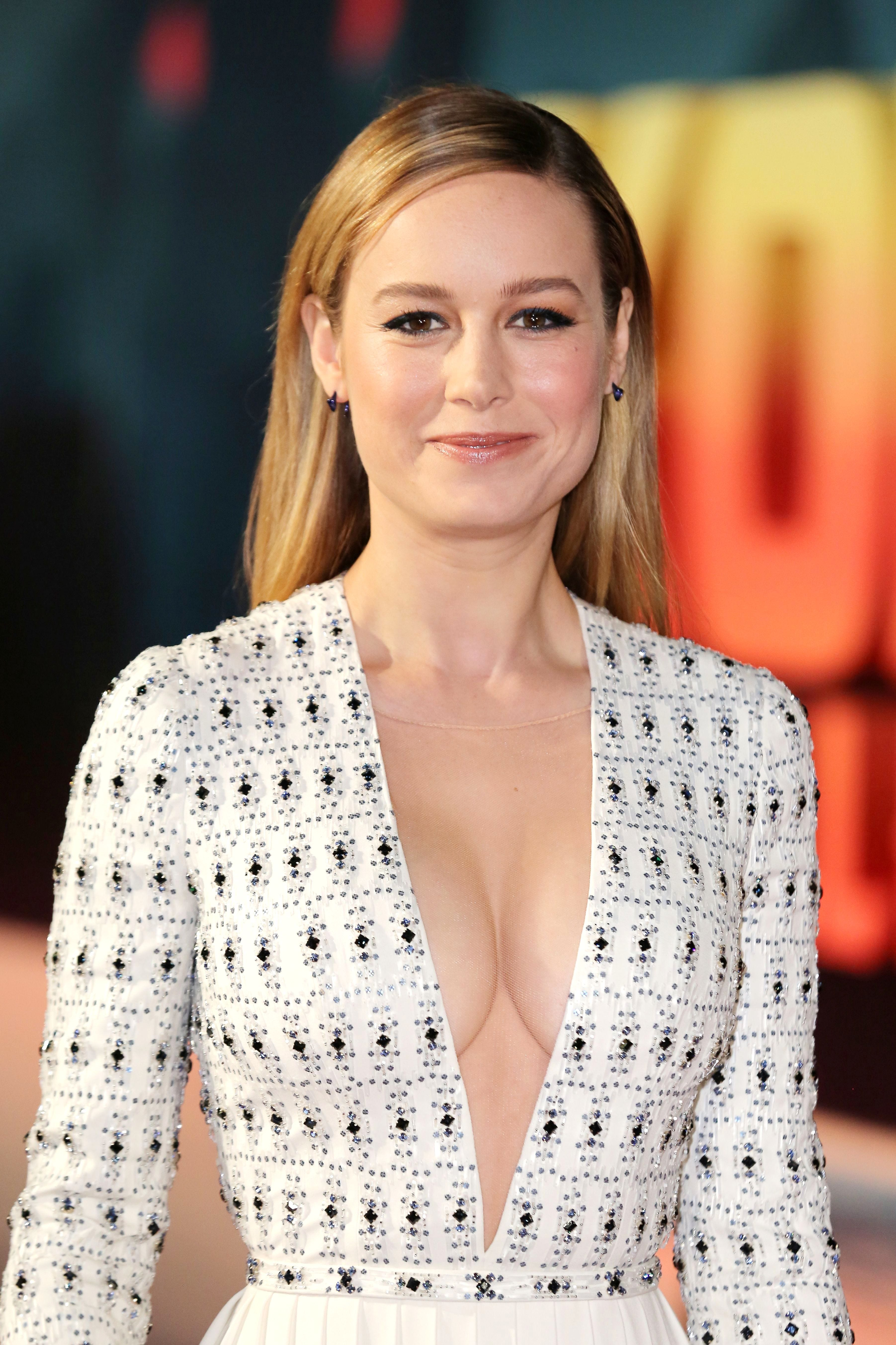 Twitter Trolls Attacked Brie Larson Over A Her Low Cut Outfit  amp  It s