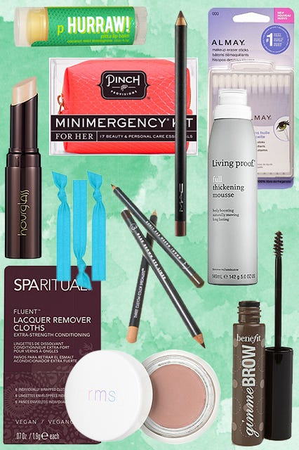 Makeup-Bag Stalking: What We Schlep
