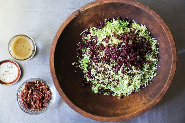 A Colorful Brussels Sprouts Salad For Summer Days