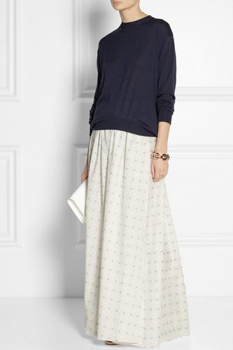 Band-Of-Outsiders_Wrap-Effect-EmbroideredCottonMaxi_NAP_495