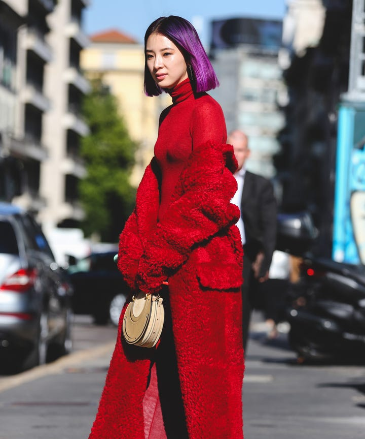 Some Trends Are Born On The Runway And Streets Back In April We Said Red Would Be Color Season Year With Designers From Jil