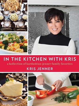 Kris Jenner Debuts A Kardashian Cookbook
