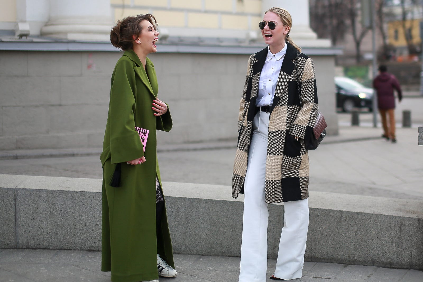 Russia Fashion Week Street Style Photos