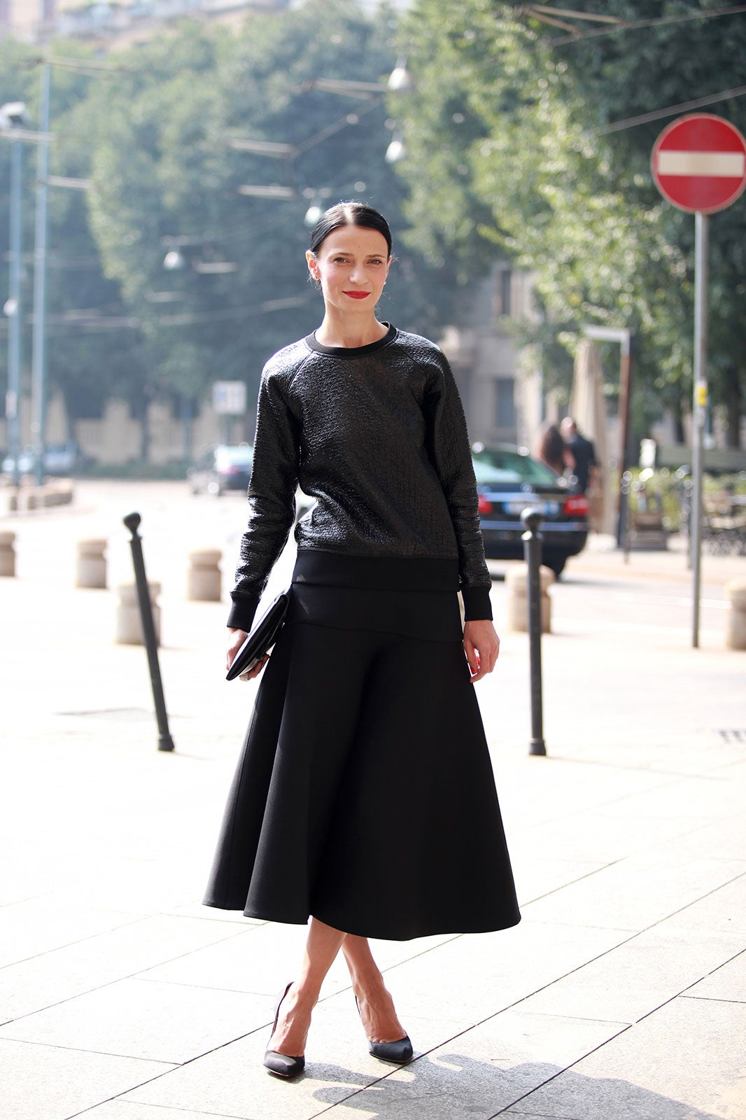 Milan Fashion Week Italian Street Style 2013