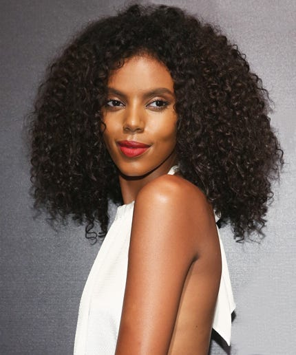 Grace Mahary Curly Hair Tips