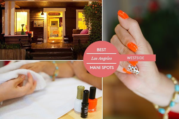 Best nail salon la top mani los angeles for A spot nail salon