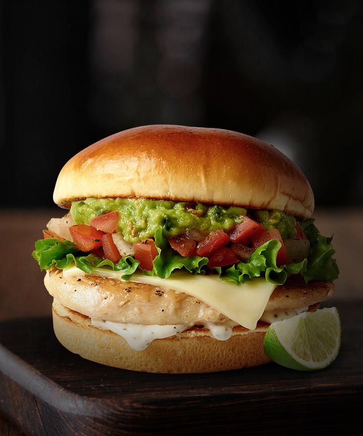McDonalds Signature Crafted Recipes Chicken Sandwich