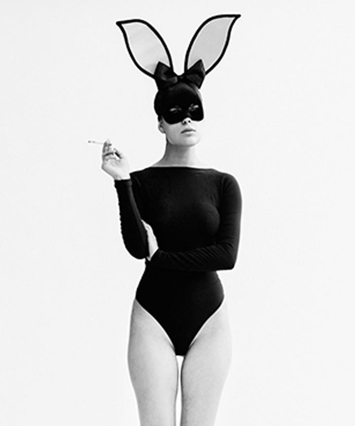 Ehmkay Nails Shy Bunny Easter Nail Art: Tyler Shields Tallulah Willis Exclusive Photos