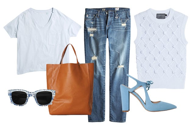 How To Wear A White T-Shirt ALL Weekend