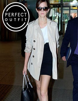 How To Steal Emma Watson's Badass Airport Style