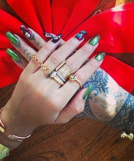 rihanna nail art opener