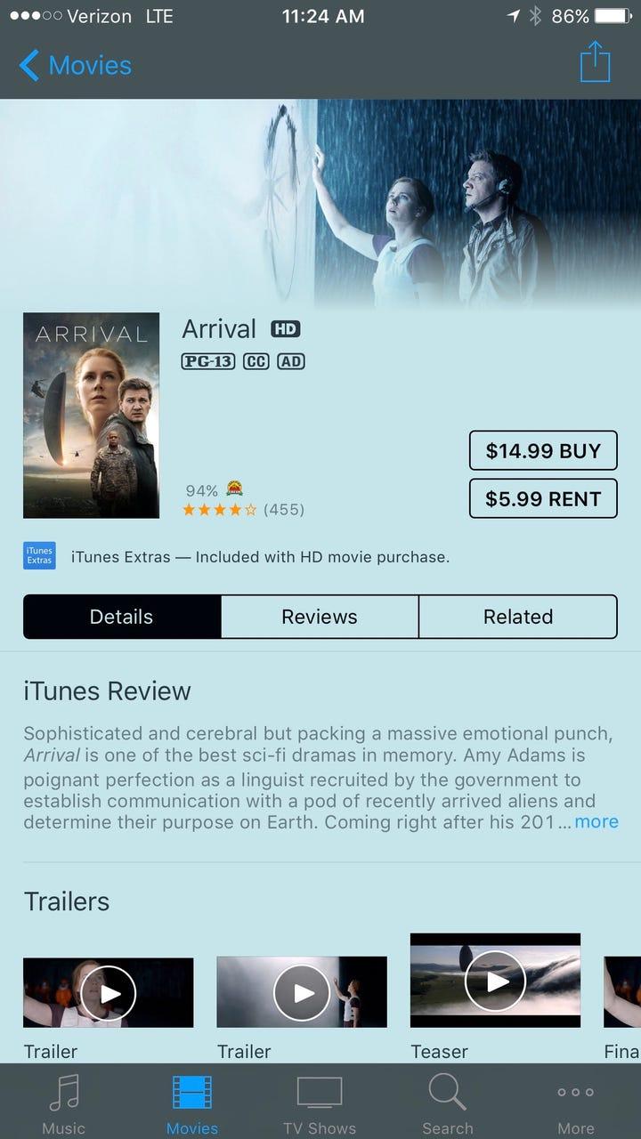 Extra vision movie rentals
