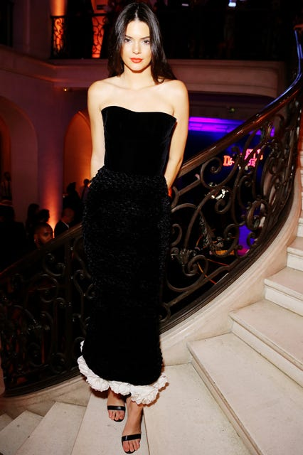 Celebrity Velvet Dress Red Carpet Trend