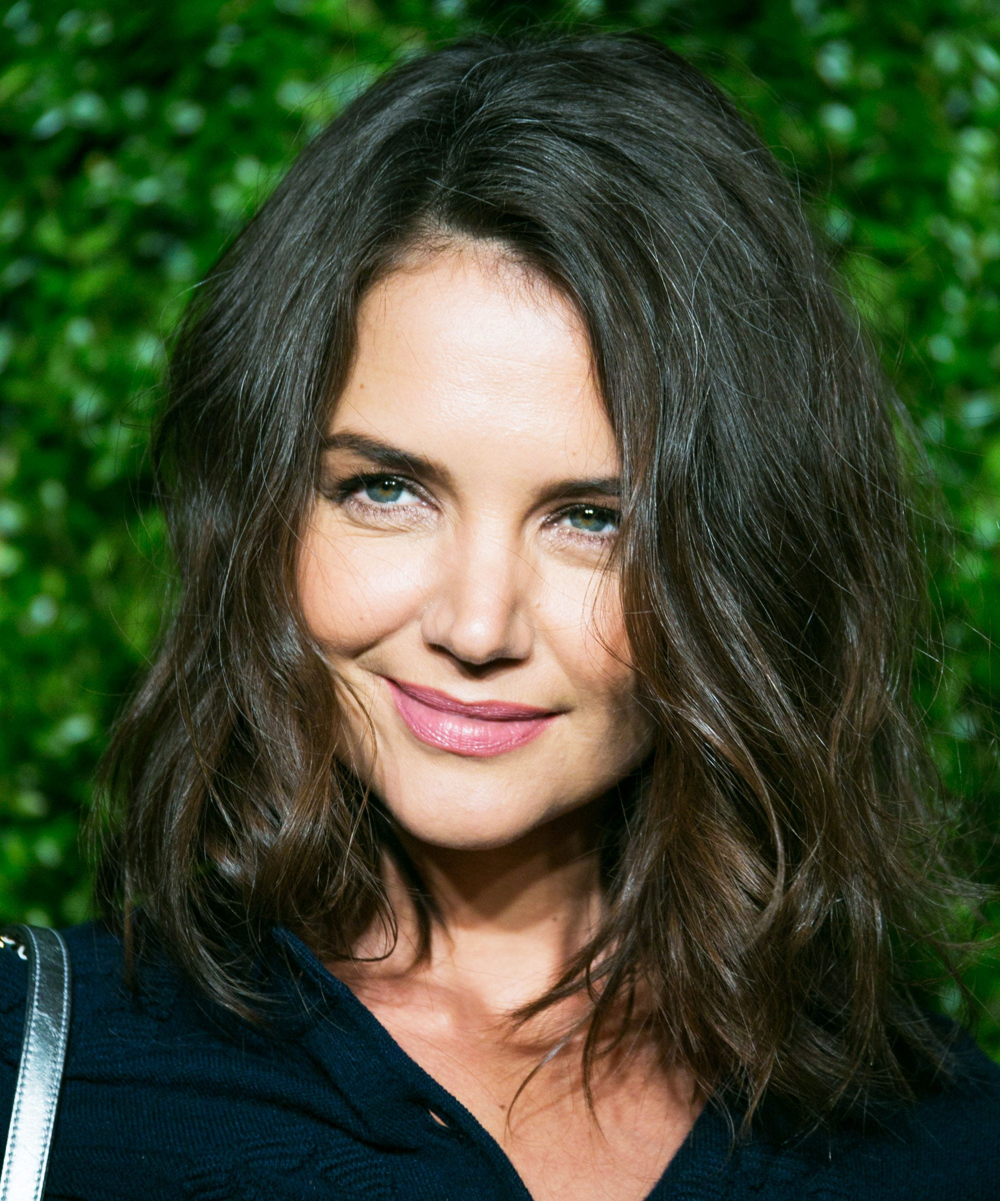 Katie Holmes New Hair Bob Cut Tribeca Film Festival Nyc