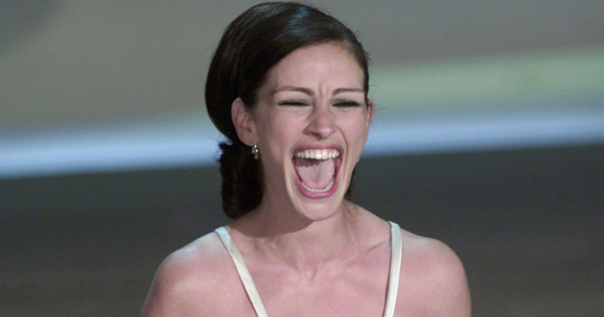 Julia Roberts Oscar Erin Brockovich Gown Daughter Hazel