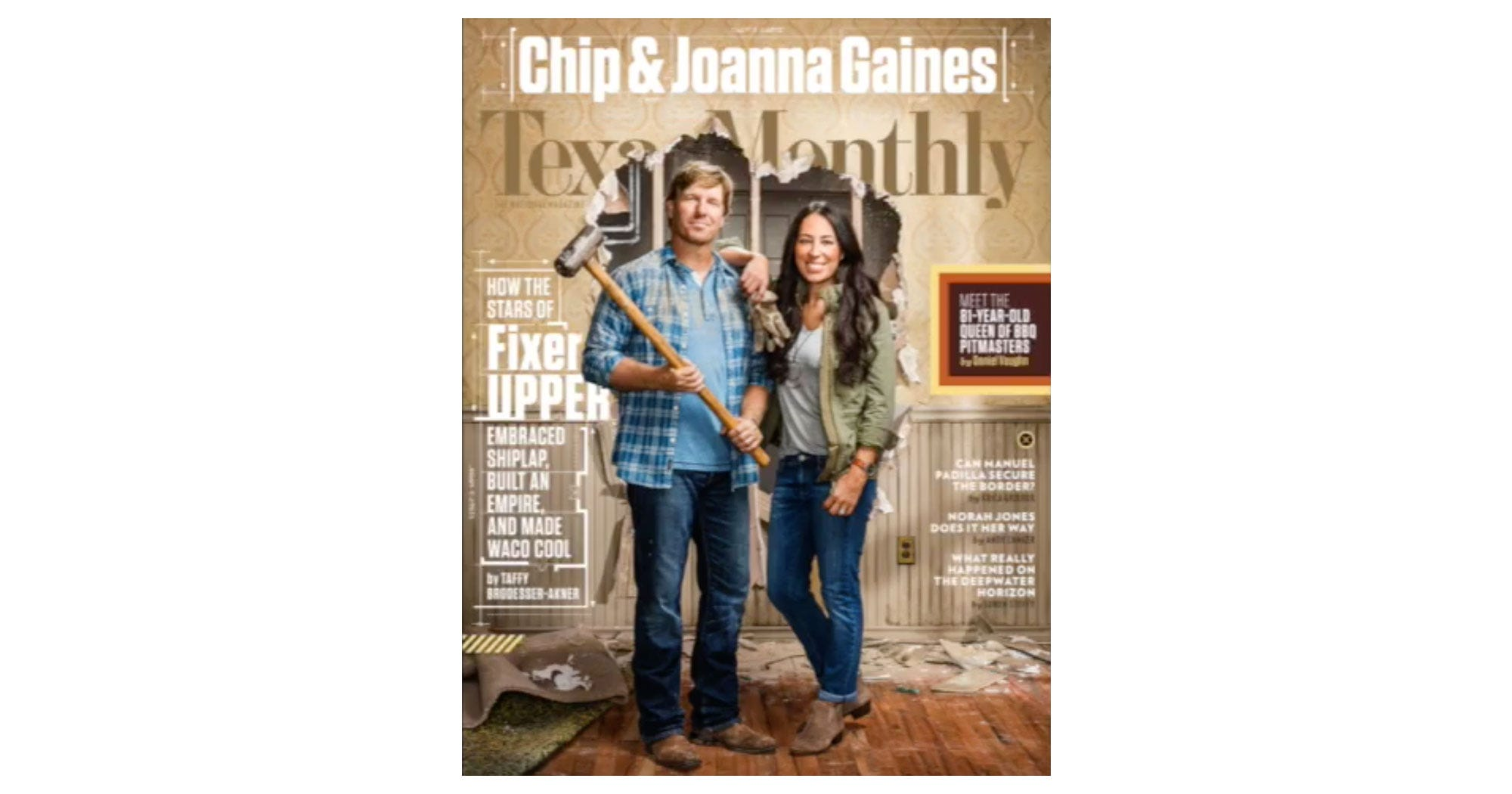 fixer upper chip joanna gaines texas monthly cover. Black Bedroom Furniture Sets. Home Design Ideas