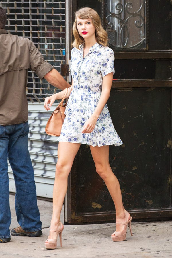 Taylor Swift Gym Style Tips Post Workout Outfits