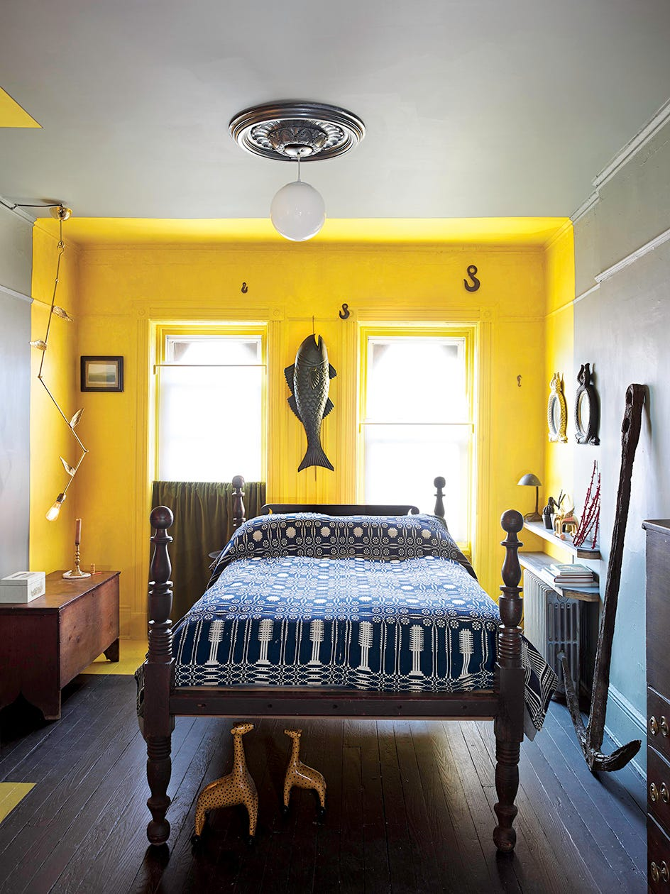 Railroad apartment new york design for Brooklyn bedroom ideas