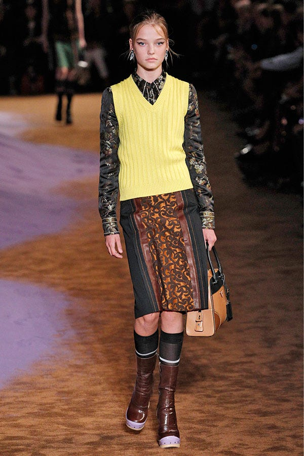 A 14-Year-Old Model Walked The Prada Show: Discuss