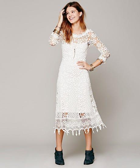 Alternative wedding dresses unique bridal style for Alternative to wearing a wedding dress