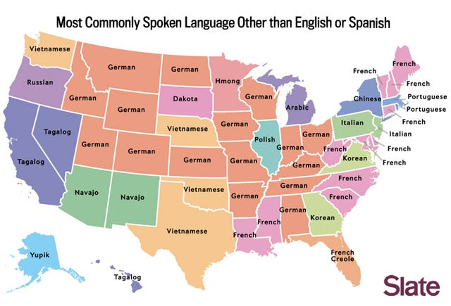 The Most Popular Languages, Broken Down By State
