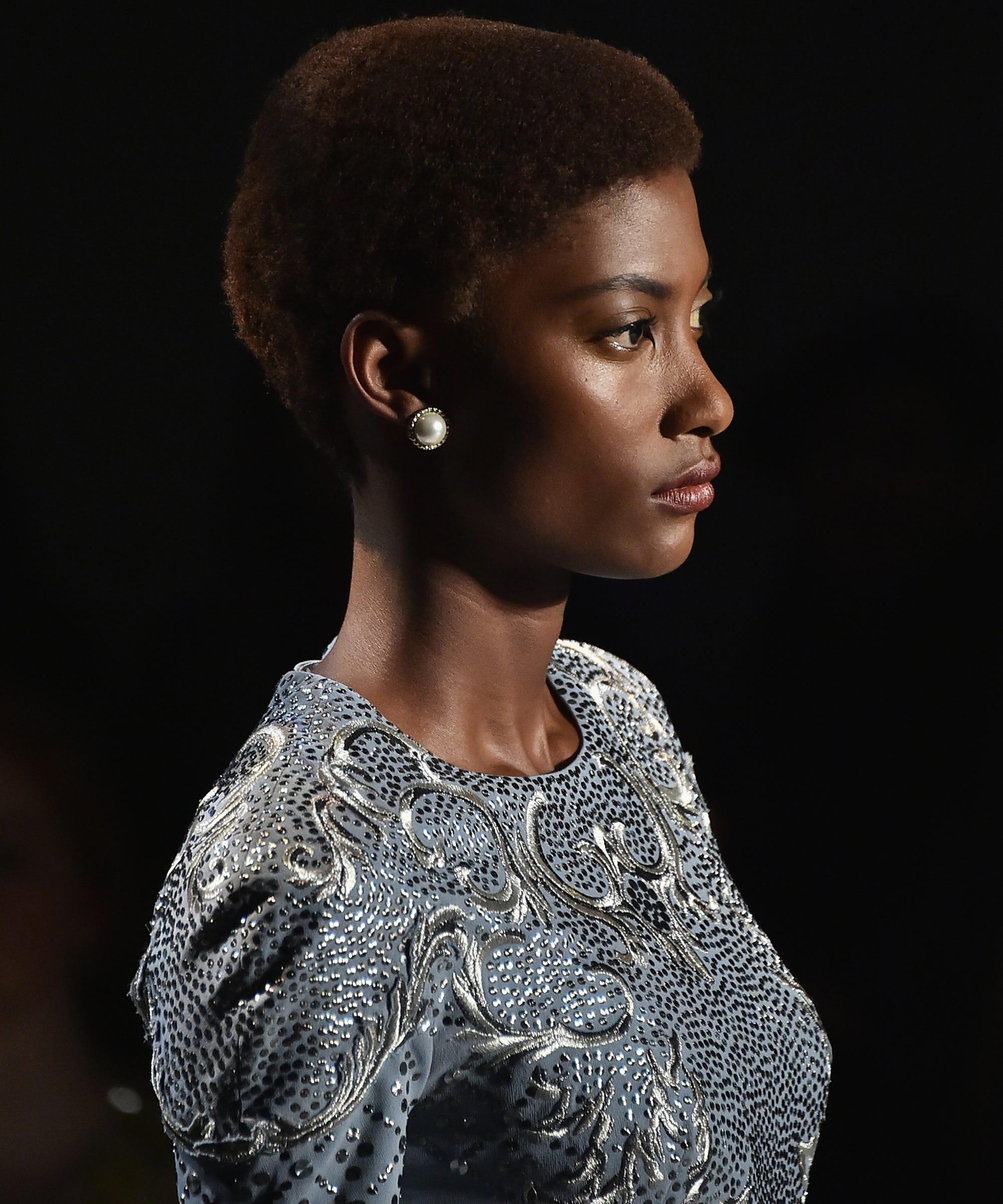 Natural Hair Trends Fashion Week 2017 Box Braids Afros