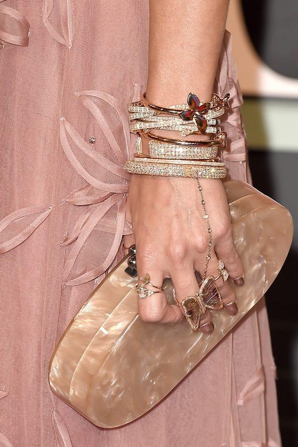 Vanessa Hudgens Jewelry - MTV VMA Red Carpet
