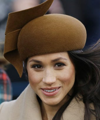 photo Meghan Markle Wants to Break Royal Tradition and Have Her Mom Walk Her Down the Aisle