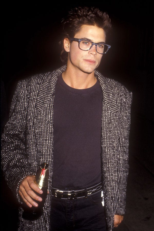 80s Celebrities Red Carpet Dresses Fun Throwback Photos
