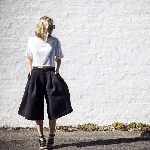 These 5 outfits will make you want to buy a pair of culottes now