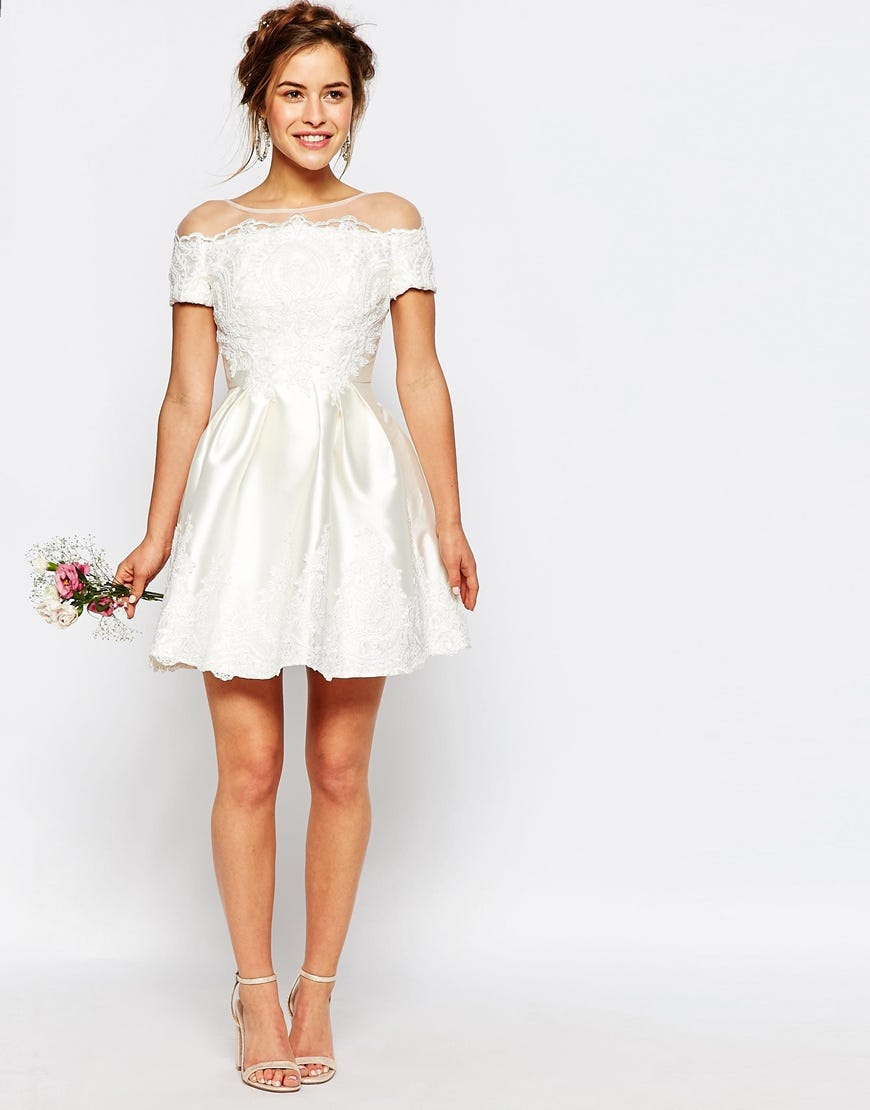 Asos new affordable bridal collection wedding dresses for Wedding dress outlet london