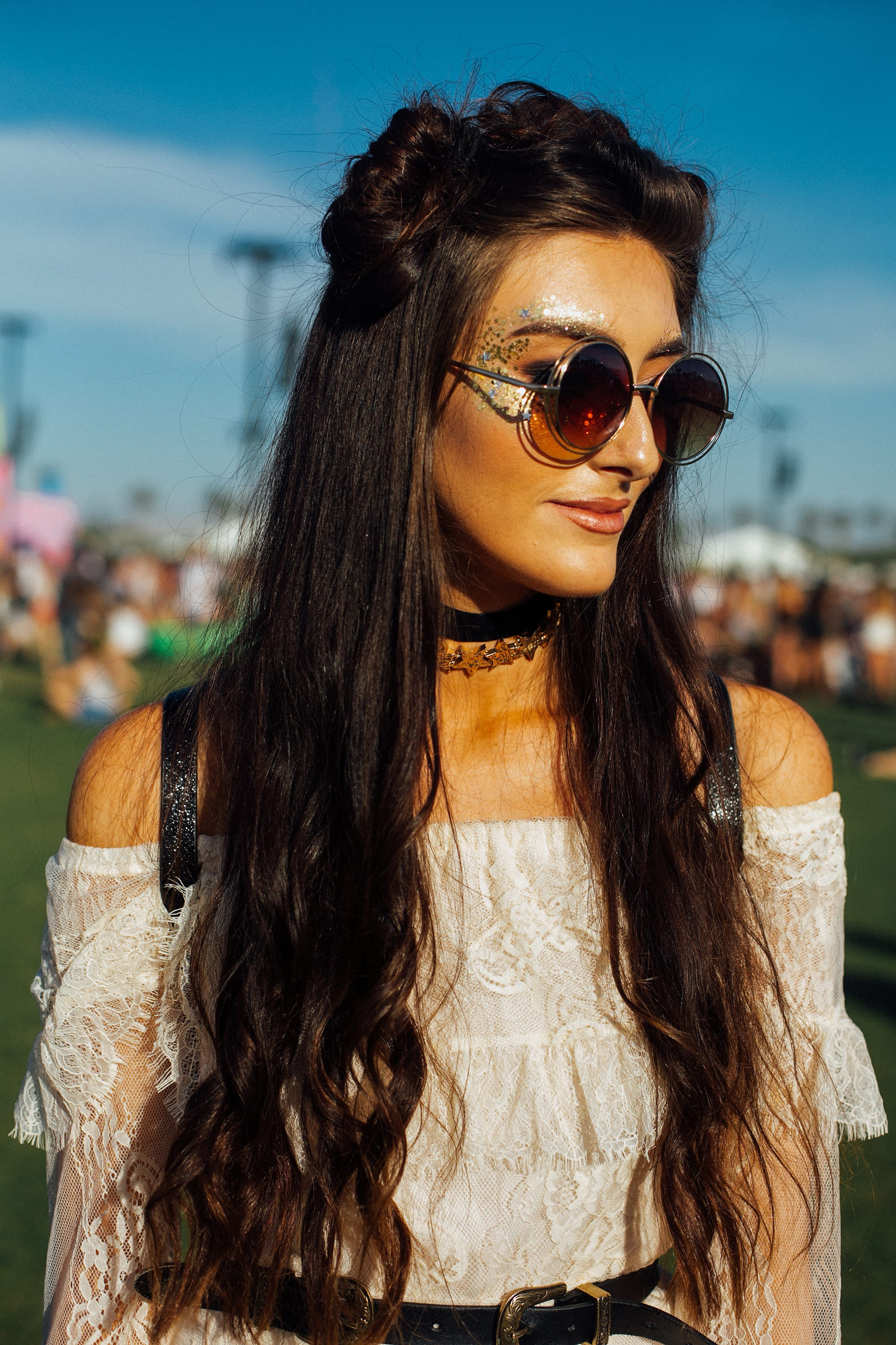 Haircut Styles For Long Thin Hair: Space Buns Hairstyle Look